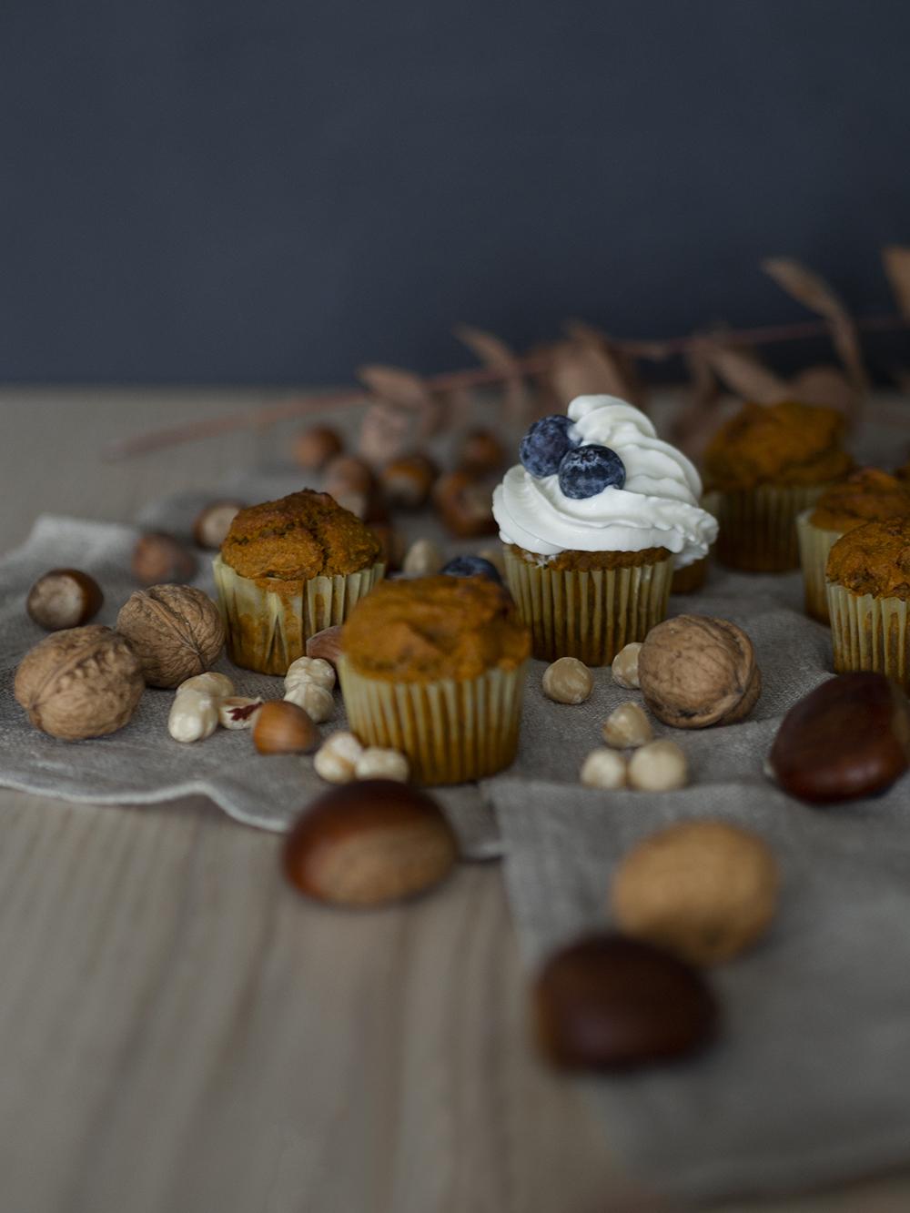 Muffins veganos de calabaza y avena_11