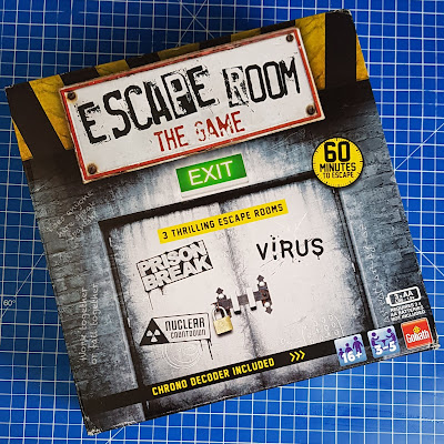 Escape Room The Game pack shot - box with image of imposing double opening doors