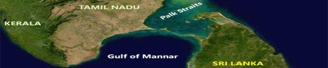 China In Palk Strait