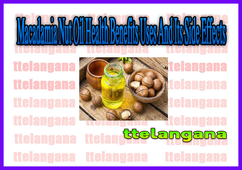 Macadamia Nut Oil Health Benefits Uses And Its Side Effects