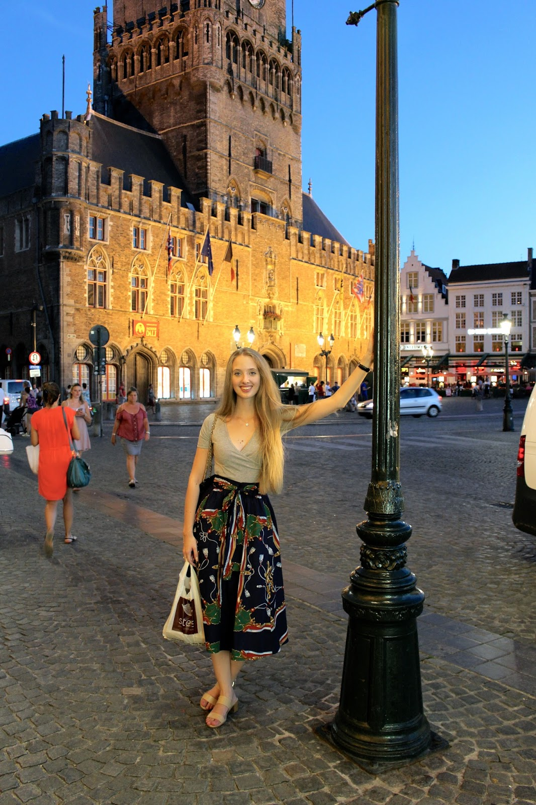 What to wear in Bruges in August