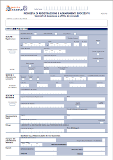 Aggiornamento software Registrazione Locazioni Immobili (RLI) 1.1.4 per Mac, Windows e Linux
