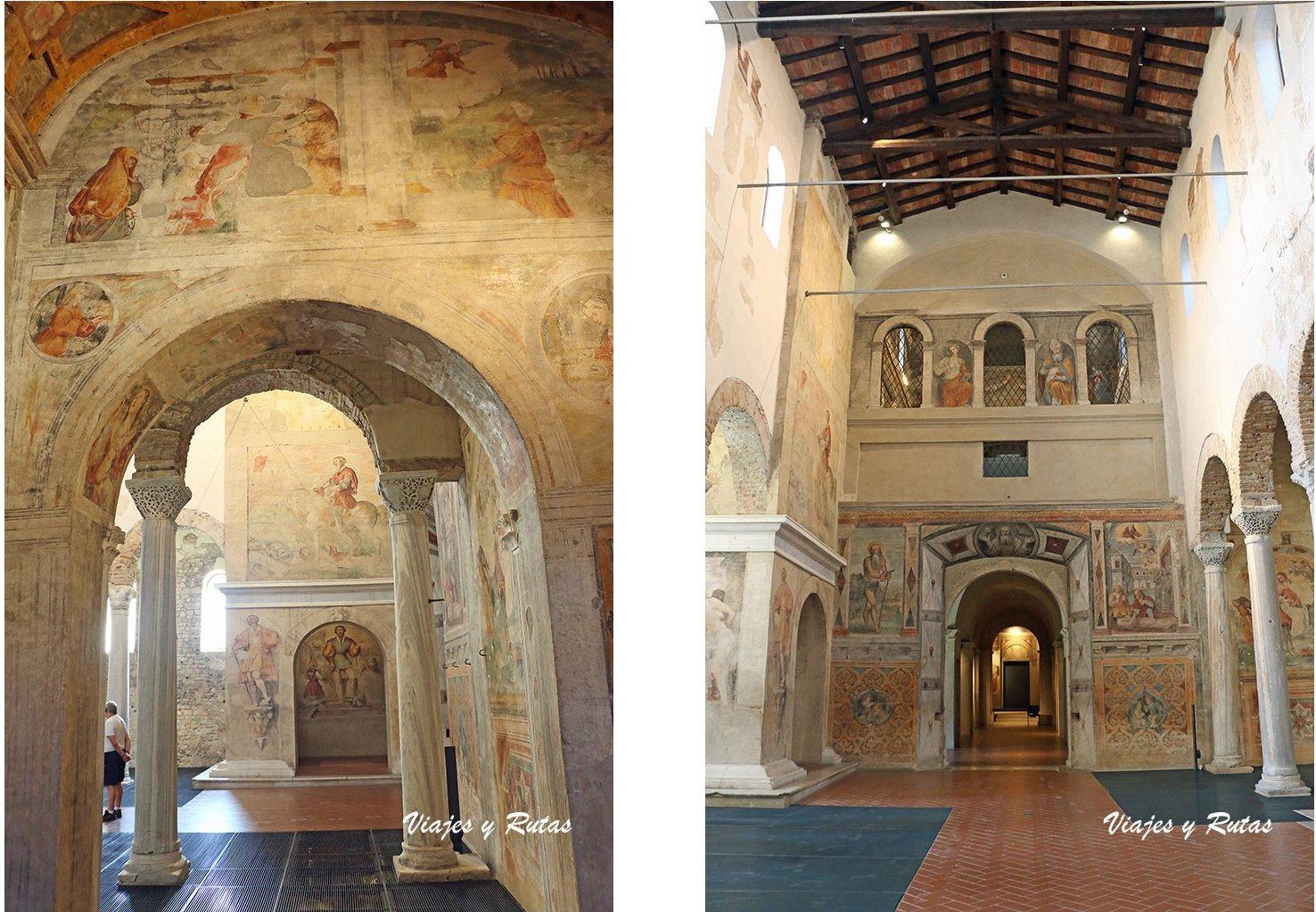 Iglesia de San Salvatore, Brescia