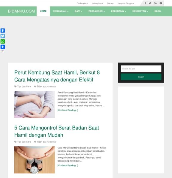 Bidanku.com | Website Referensi untuk Kesehatan Anak Anda
