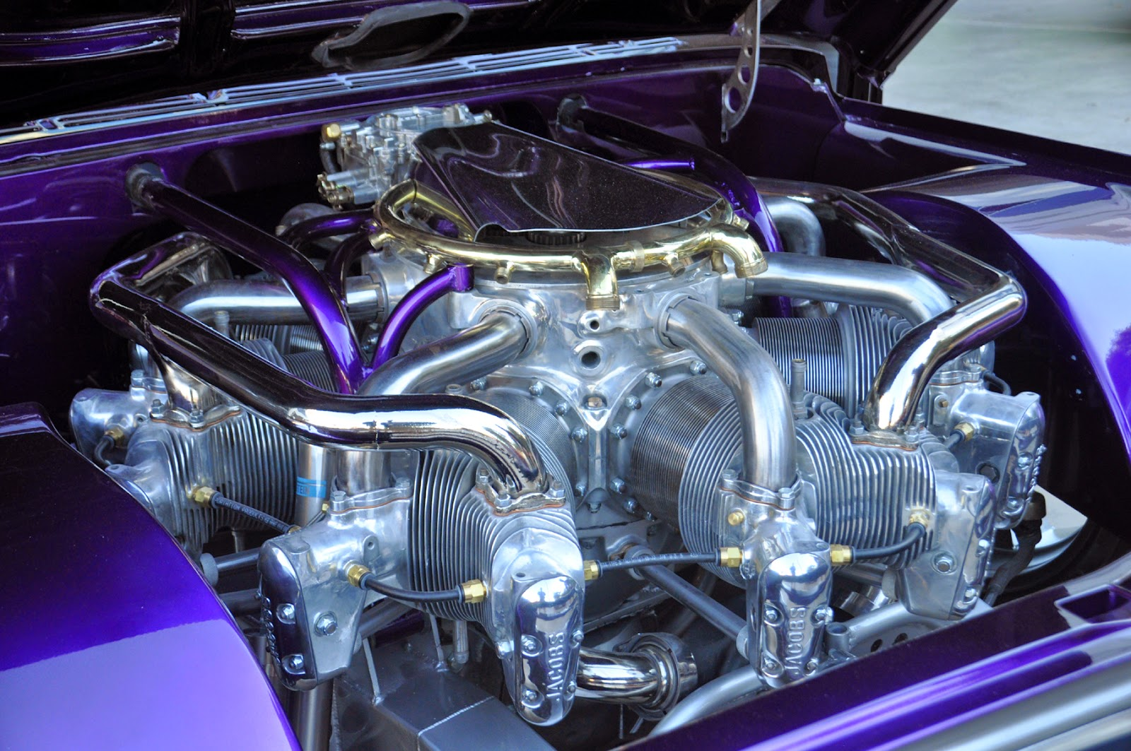 Just A Car Guy: the close ups of the radial engine C10 I