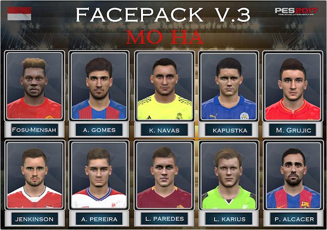 PES 2017 Facepack v.3