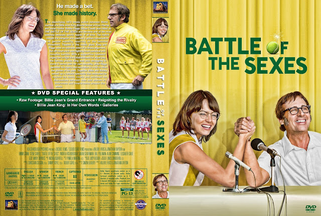 Battle Of The Sexes DVD Cover