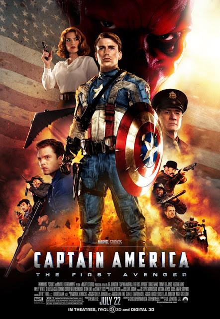 Captain America. The First Avenger. 2011. Marvel Comics. Chris Evans