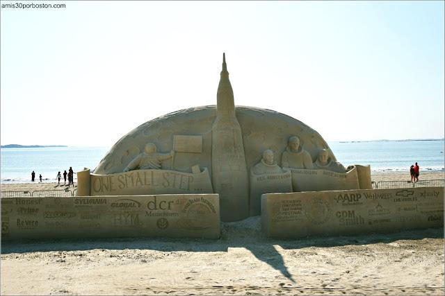 Festival Internacional de Esculturas de Arena de Revere Beach 2019