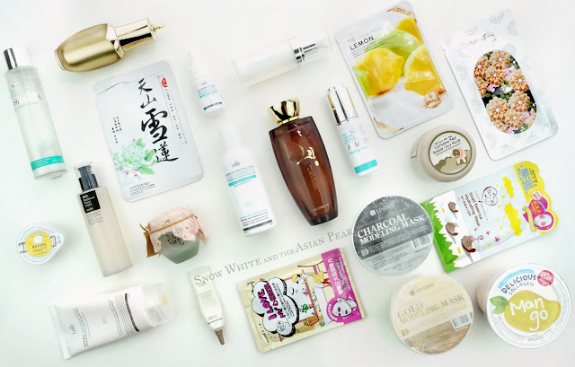 Korean beauty product routine