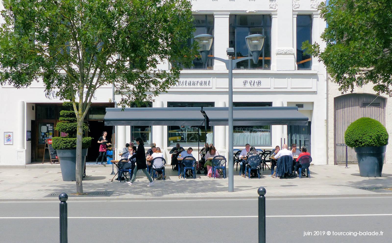 Restaurant Le P'tit Quinquin, place de la République, Tourcoing 2019