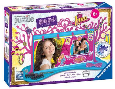 TOYS : JUGUETES - DISNEY Soy Luna Girly Girl - Puzzle 3D Joyero Ravensburguer 12094 | SERIE TELEVISION 2016 108 piezas | A partir de 8 años Comprar en Amazon España