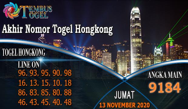 Akhir Nomor Togel Hongkong Hari Jumat 32 November 2020