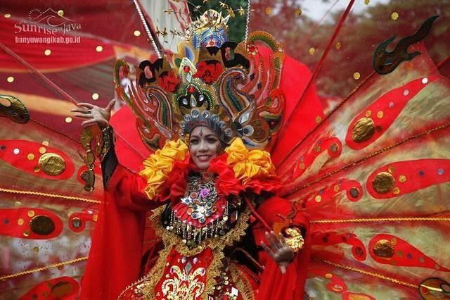 Banyuwangi Ethno Carnival 2012.