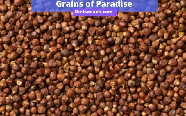 What are grains of paradise