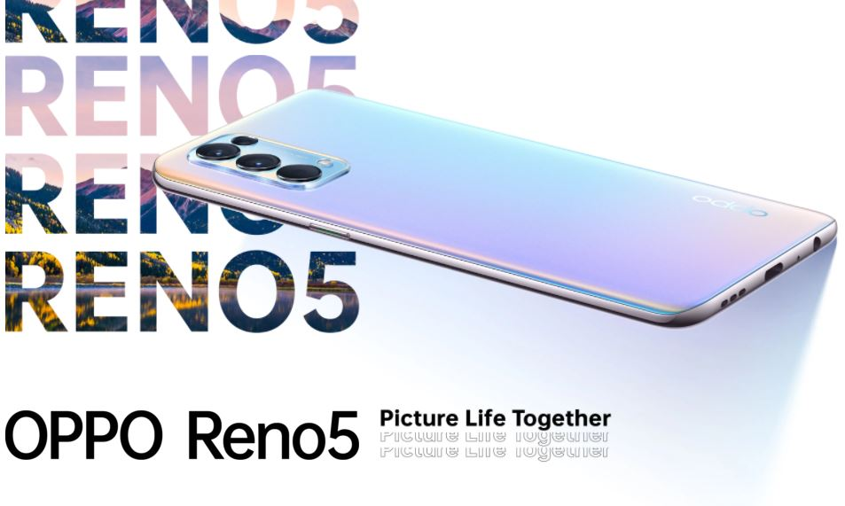 Harga dan Spesifikasi Oppo Reno 5 RAM 8GB ROM 128GB dengan 50W SuperVOOC Flash Charge