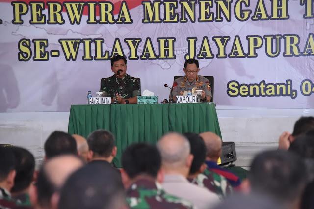 TNI Polri Perkuat Sistem Pengamanan Kota Di Papua