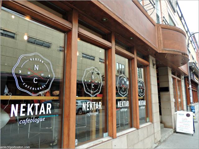 Cafetería Nektar Cafeologue en Quebec