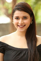 Mannara Chopra in Short Off Shoulder Black Dress ~  Exclusive 033.JPG
