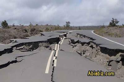 hadits tentang gempa bumi