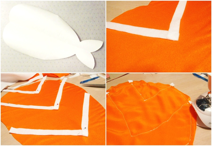 I'm a piece of Sushi! Halloween Costume DIY