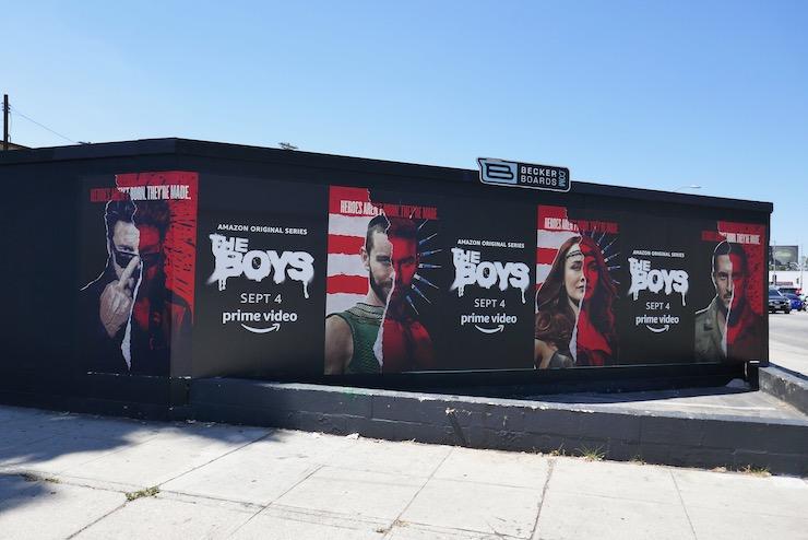 Boys season 2 street posters