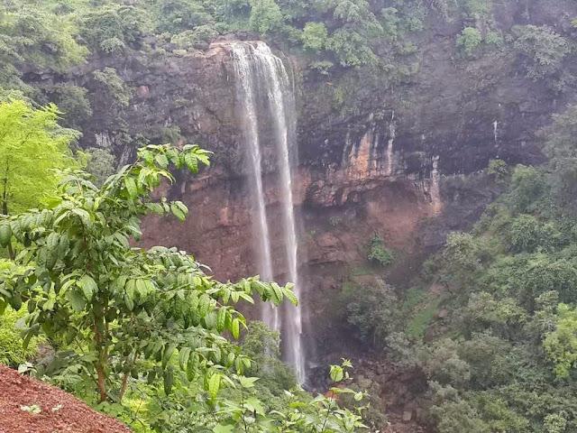 Shankar waterfall in Dharampur valsad