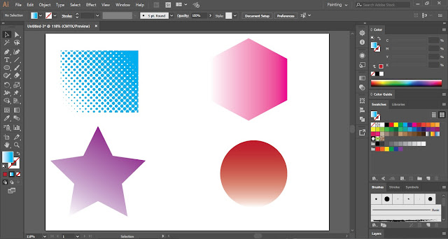 Half Tone Effect in Adobe Illustrator
