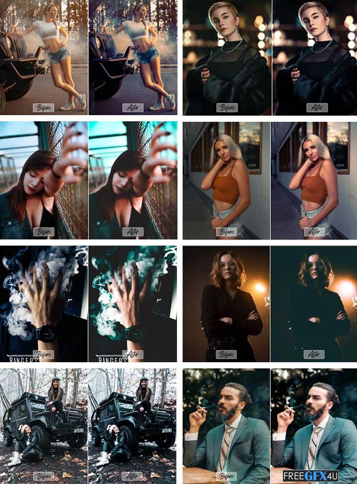 7 Pro Film Noir Ps,ACR,LUT Filter