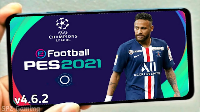 PES 2021 Mobile Patch UCL V4.6.2 Android Best Graphics New Menu Original Logos and Kits Update