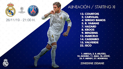 Real Madrid - Paris St Germain