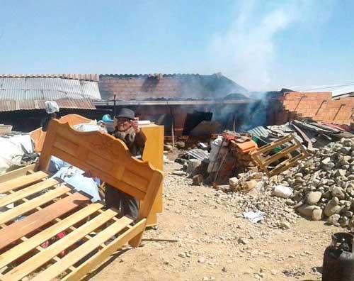 Conflicto por lotes deja 73 detenidos y 10 casas quemadas