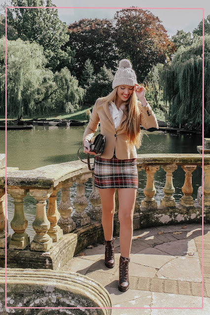 how to shoot fashion blog outfits in public easily