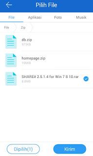 Cara Mudah Kirim File Dari Android Ke PC