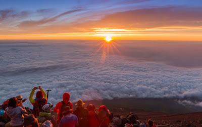 Temporada de escalada Monte Fuji