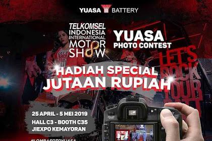 Lomba Foto Yuasa Battery 2019 Untuk Umum Gratis di Jakarta