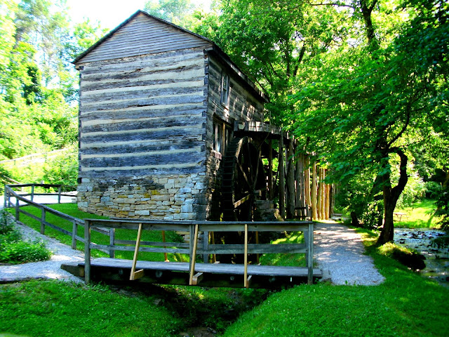Boones Mill at Squire Boone's Cavern