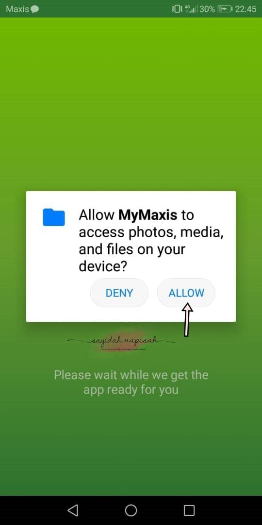 cara login mymaxis app 2020