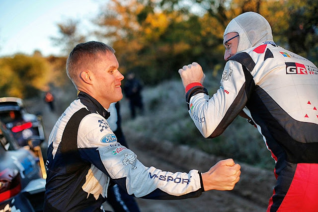 WRC drivers