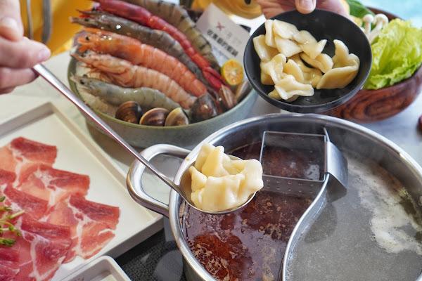 台南東區美食【花花世界鍋物】餐點介紹-附餐手工麵疙瘩