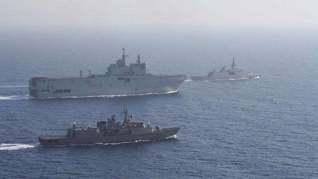 Ημέρα διπλωματικού μαραθωνίου της Αθήνας για την Ανατολική Μεσόγειο