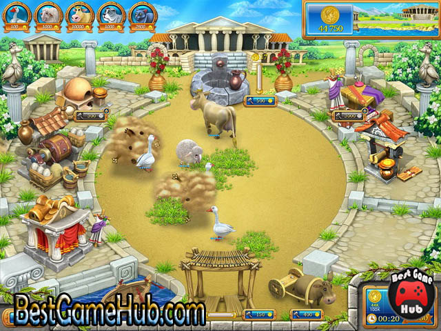 Farm Frenzy Ancient Rome PC Repack Game Free Download