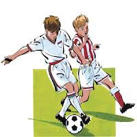 Resultado de imagen para defensa futbol dibujo