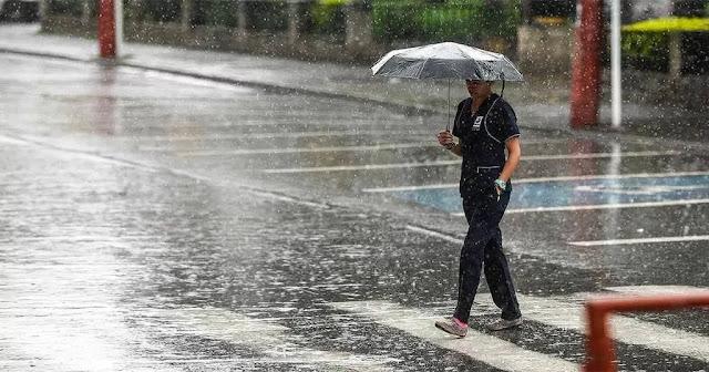 Depresión tropical seguirá generando aguaceros hacia el interior del país; se mantienen las alertas