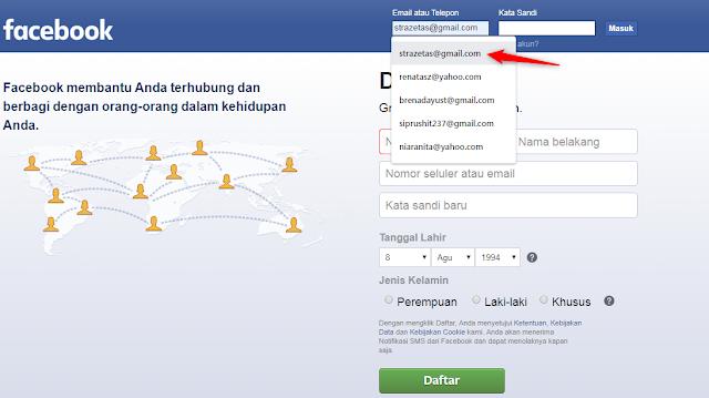 Cara Menghapus Email Di Kotak Login Facebook Cara Menghapus Email Di Kotak Login Facebook