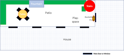 Layout plan of casa chorizo patio