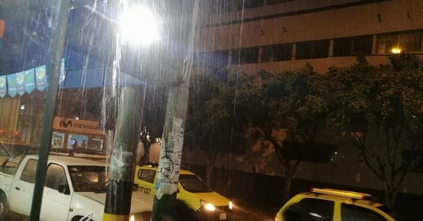 SENAMHI pronostica para mañana lluvias de fuerte intensidad en regiones del norte - www.senamhi.gob.pe