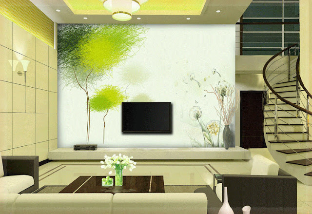 Awesome wallpaper ideas for small living room