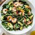 Shrimp, Asparagus and Avocado Salad - Paleo & Whole30 Recipe #healthysalad #diet