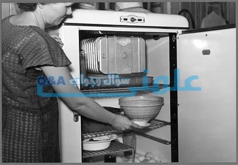 في اي سنة تم اختراع الثلاجة